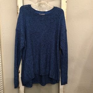 Philosophy Marled Blue and Black Sweater XXL